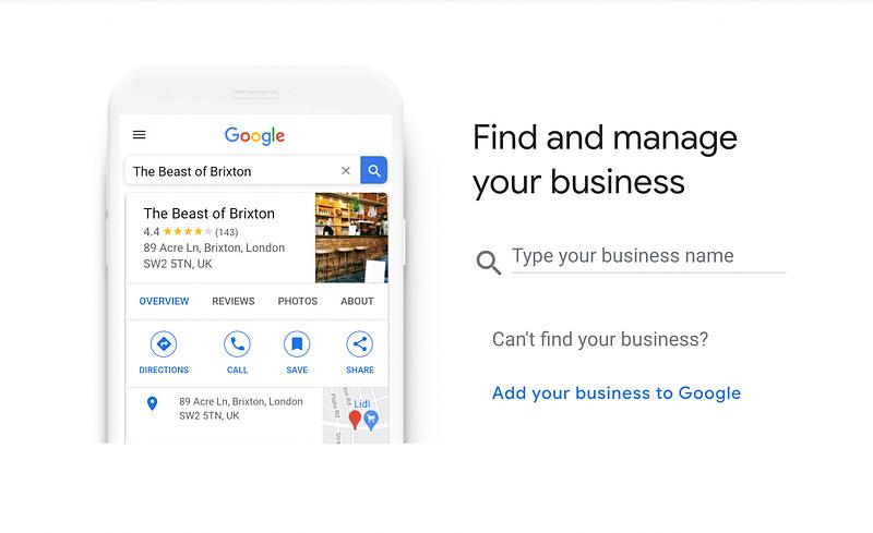 Registering Worcester Web Dev on Google My Business