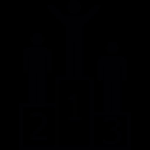 podium silhouette