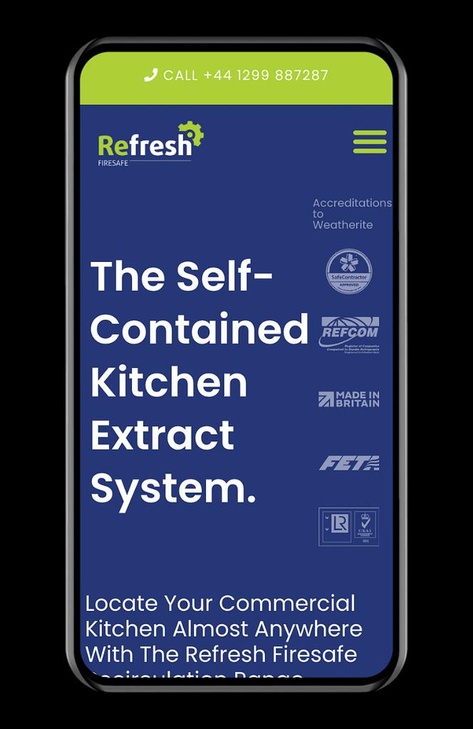 refresh firesafe website on mobile device