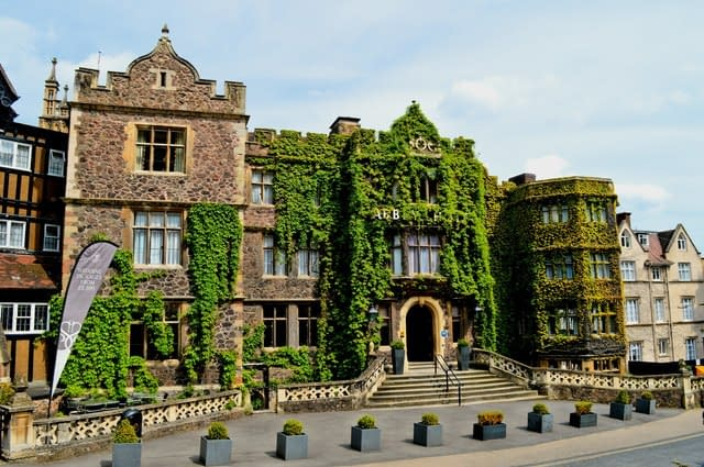 The Abbery hotel, Great Malvern, worcestershire, uk